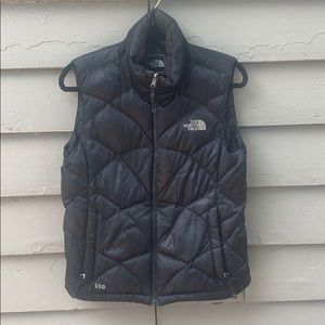 North Face puffy vest